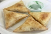 Curried Beef Triangles (4)