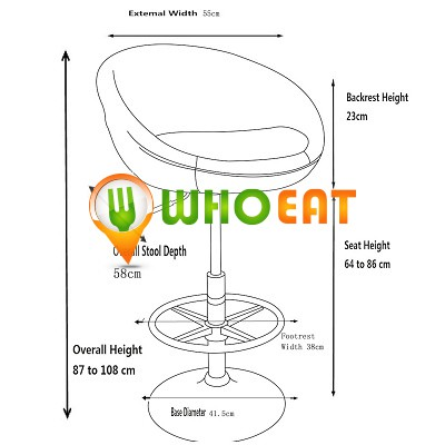 Whoeat Swivel Chair