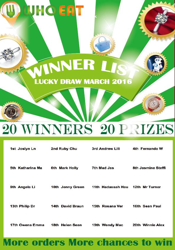 winner list mar
